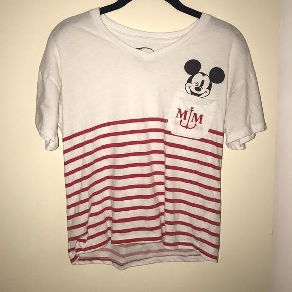 f5a7516fe Macy's Tops   Cute Mickey Sailor Shirt   Poshmark